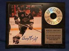 the Great... WayneGretsky record breaking plaque