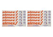 10x ELMEX mentholfrei Zahnpasta mit Faltschachtel 75ml PZN 04919378 Kariesschutz