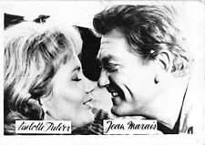 BC43377 Liselotte Pulver Jean Marais Actors Acteurs vrais photo  9x7 cm