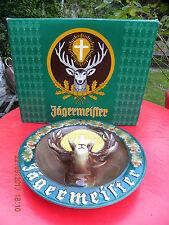 Original Wandteller von Jägermeister Ransbach Westerwald Keramik oder Porzellan