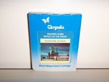 RACING CARS BRING ON THE NIGHT 8 TRACK TAPE WITH CHRYSALIS SLIP COVER