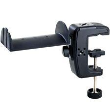K&M 16085 Soporte de Auriculares Con Mordaza de Mesa