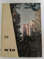 Vintage University of Wyoming Yearbook 1956 - WYO Cowboys