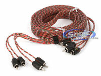 Stinger SI4420 20 ft. of 4-Channel 4000 Series RCA Audio Interconnect Cable