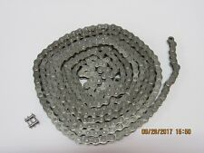 #35 Chrome / Nickel Kart Racing Chain - 10 Feet - Free Shipping