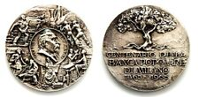 Medaglia Centenario Della Banca Popolare Di Milano 1865-1965 Luigi Luzzatti (FT)
