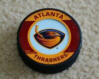 Atlanta Trashers Hockey Puck NHL InGlasCo Official Game Puck Hockey