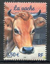 stamp / TIMBRE FRANCE NEUF N° 3664 ** FAUNE - LA VACHE