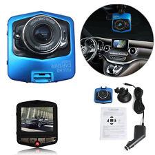 BLUE HD 1080P LCD Car DVR Vehicle Camera Video Recorder Dash Cam G-sensor Night