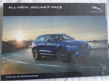 Jaguar F Pace brochure Oct 2015 ref JLM/10/02/88/1015