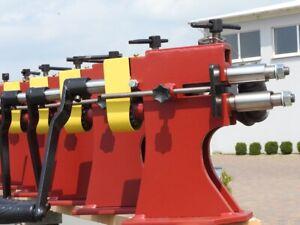 Stahl Sickenrolle Walze vidaXL Flanschmuttern für Rohr-Sickenmaschine 12-tlg