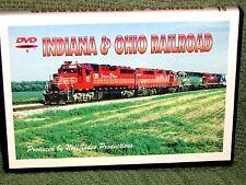 "n030 TRAIN VIDEO DVD ""INDIANA & OHIO RAILROAD"" LATE 90's"