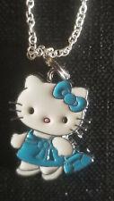 Hello Kitty Blue dress & Purse Shopping Bag  shoe bag sale charm necklace