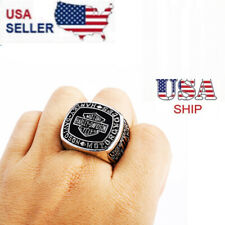Men's Harley Davidson Biker Ring Motorcycle Hog Ring