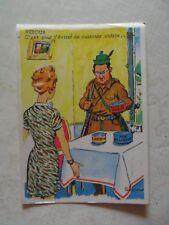 CHASSE retour  bredouille boite conserve humour    postcard