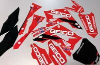 Honda Cr 125 250 Graphics kit - Polisport Restyle kit 2002 - 2008 GEICO