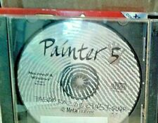 "PC CD-ROM ""PAINTER 5""-CREATIVE SOFTWARE FOR AMAZING ARTISTIC EFFECTS!"