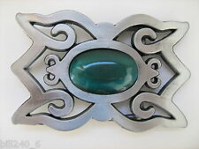 Belt Buckle Celtic Cat Eyes Mint, Boucle de Ceinture Celtique . Neuve,