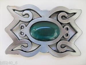 Belt Buckle Celtic Cat Eyes Mint, Boucle de Ceinture Celtique . Neuve,