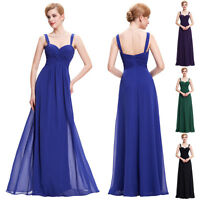 Clearance!! Formal Long Lace Womens Prom Evening Party Bridesmaid Wedding Dress