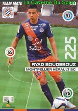 324 RYAD BOUDEBOUZ ALGERIA MONTPELLIER.HSC CARD UPDATE ADRENALYN 2016 PANINI