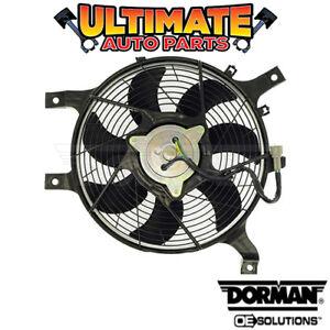 A/C Condenser Cooling Fan (2.4L 4 Cylinder) for 10-14 Nissan NP300