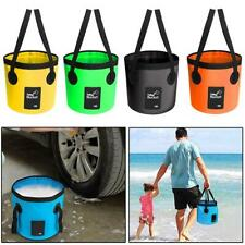 Outdoor Camping Fishing Folding Collapsible Bucket Container Car Water