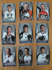 9 Don Russ STUDIO sports Hockey trading cards1997 Eric Lindros,Selanne, Messier