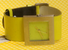 Women's MOSCHINO TIME 4 PEACE Quartz Watch Leather Band * NWoT *