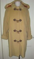Vintage MacKintosh Neiman Marcus Wool Hooded Toggle Front Duffle Coat Womens M/L