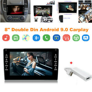 """8"""" Double Din Android9.0 Carplay Car Stereo Player GPS Navi Wifi QuadCore 2+16GB"""
