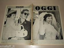 OGGI=1959/42=GRACE KELLY=CIVITELLA=GUGLIELMO GIANNINI=MELCHIORRE BEGA=CALLAS=