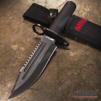 "10.75"" SURVIVAL FIXED BLADE KNIFE WITH RAZOR SHARP BLADE - SURVIVAL KIT INCLUDED"