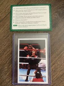 1986 Mike Tyson Rookie Card A Question Of Sport - Excellent Condition ⭐️