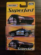 MATCHBOX SUPERFAST #30 1993 CAMARO Z-28 POLICE CAR LIMITED EDITION 1 OF 15,500