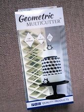 PME Geometric MultiCutters for Cake Design - Diamond - Small, Medium Large Size