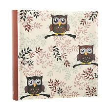 Owl design Photo  6'x4' Album Slip In Case Memo Album for 200 photos AL-9770