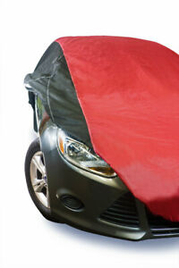 USA Made Car Cover Red/Black fits Toyota ECHO  2001