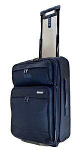 "Travelpro Platinum 3 Black 22"" Upright Carry On Wheeled Rolling Suitcase 9222"