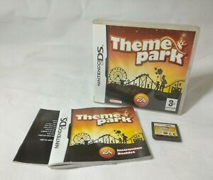Theme Park (Nintendo DS) Includes manual