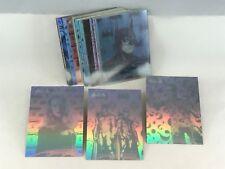BATMAN FOREVER FLEER-ULTRA 1995 Complete HOLOGRAM CHASE CARD SET (36)