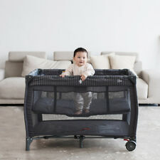Removable Portable Baby Crib Bassinet Playpen Folding Travel Bed Organizer Cot
