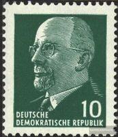 DDR 846X y I3, Type I3, Gummi y postfrisch 1961 Staatsratsvorsitzender Ulbricht,