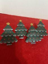 Christmas Napkin Rings Set Of 4
