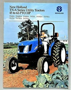 ORIGINAL 2005 NEW HOLLAND TN-A SERIES UTILITY TRACTOR BROCHURE ~ 24 PAGES ~ 05TN