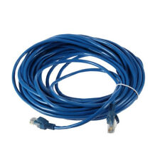 50FT RJ45 CAT5 CAT5E Ethernet Network Lan Router Patch Cable Cord Blue 15M