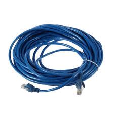 50FT RJ45 CAT5 CAT5E Ethernet Network Lan Router Patch Cable Cord Blue 15M
