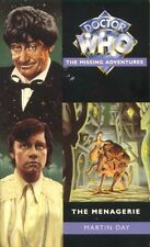 Dr Doctor Who Missing Adventures Paperback Book - The MENAGERIE - (Mint New)