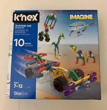 Nuevo-K 'nex imaginar 10 modelo conjunto de construcción de diversión-edades 7-12 - 126 piezas