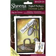 Sheena Douglass Home Life Perfect Partners - Dig For Victory Metal Die Set